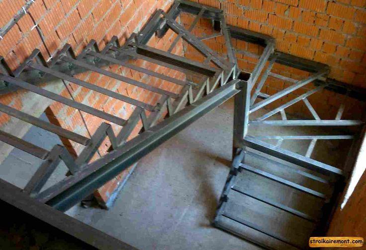 Как сделать лестницу если есть металлический каркас 32
