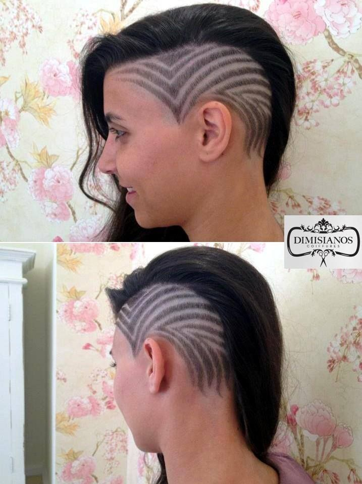 , medium, long, buzzed, side part, long top, short sides, hair style ...