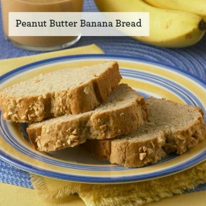 Peanut Butter Banana Bread | BREAKFAST TIME! | Pinterest