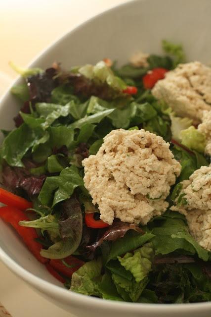 Crumbled Seasoned Tofu Salad | Recipes: salads dressings sauces ...
