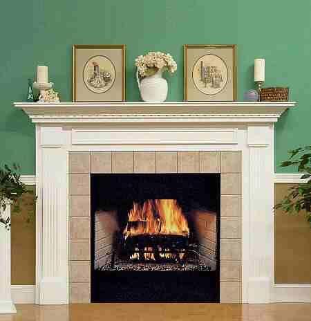 Fireplace Mantel Designs Fireplaces Pinterest