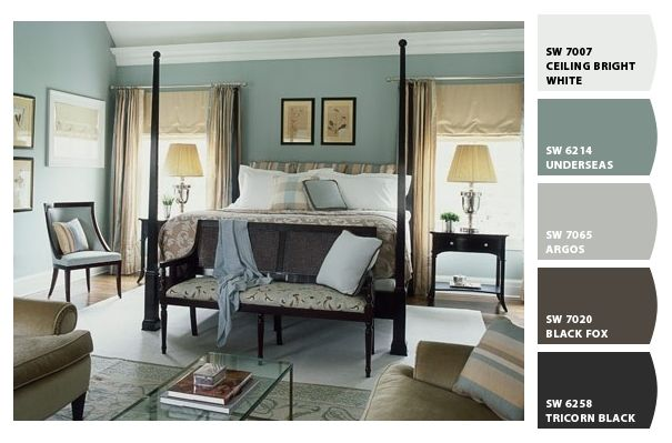 underseas wall color basement bedroom for the home