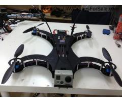 FROG-X Quadcopter, World's most rigid QUAD for FPV, Amateur Aerial