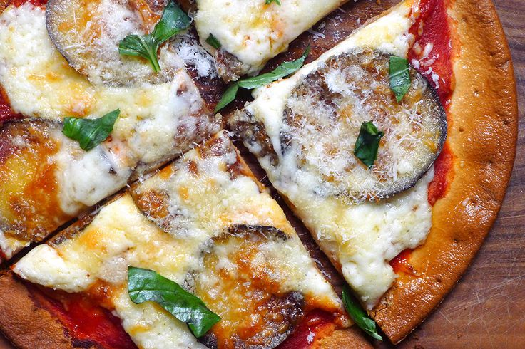 Make this Father's Day a #PizzaParty with out Eggplant Parm Pizza recipe!
