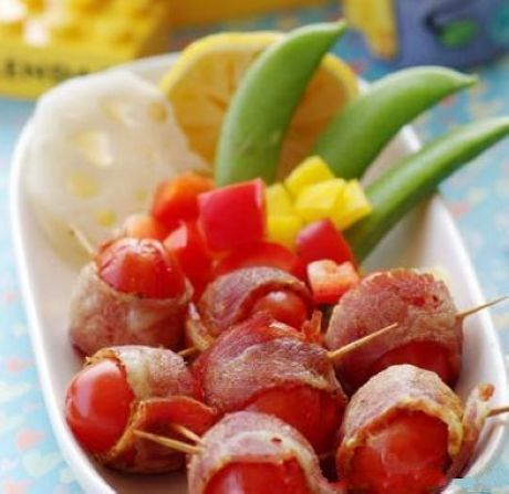 bacon wrapped smokies bacon wrapped corn bacon wrapped potatoes bacon ...