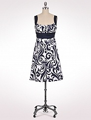 Dress Barn Dresses on Banded Scroll Dress From Dress Barn   Fashion  Hair  Shoes  Clothing