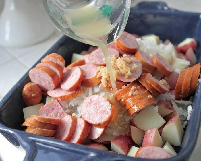 sausage is made nights sausage and potato hillshire farm sausage and ...