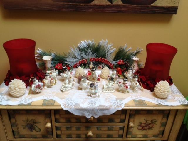 Foyer Tables Holiday Decorating Ideas Pinterest