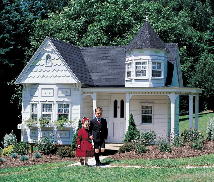 Victorian Backyard Playhouse : playhouse  Playhouse  Pinterest