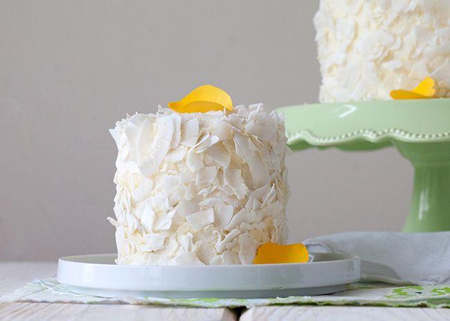 Raspberry Coconut Layer Cake - Style Sweet CA