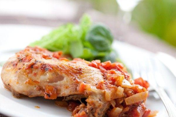 Quick and Easy Chicken Cacciatore #Recipe