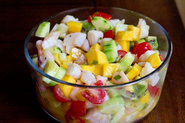 tropical shrimp ceviche | LOW CARB /KETO YUMMY | Pinterest