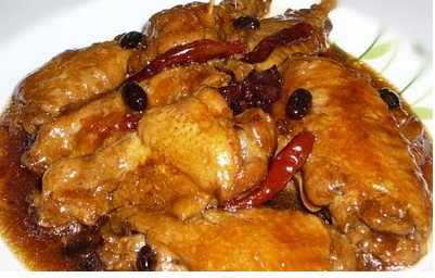 Braised Chicken Wings with Tausi | Lutong Pinoy (Filipino Recipes ...