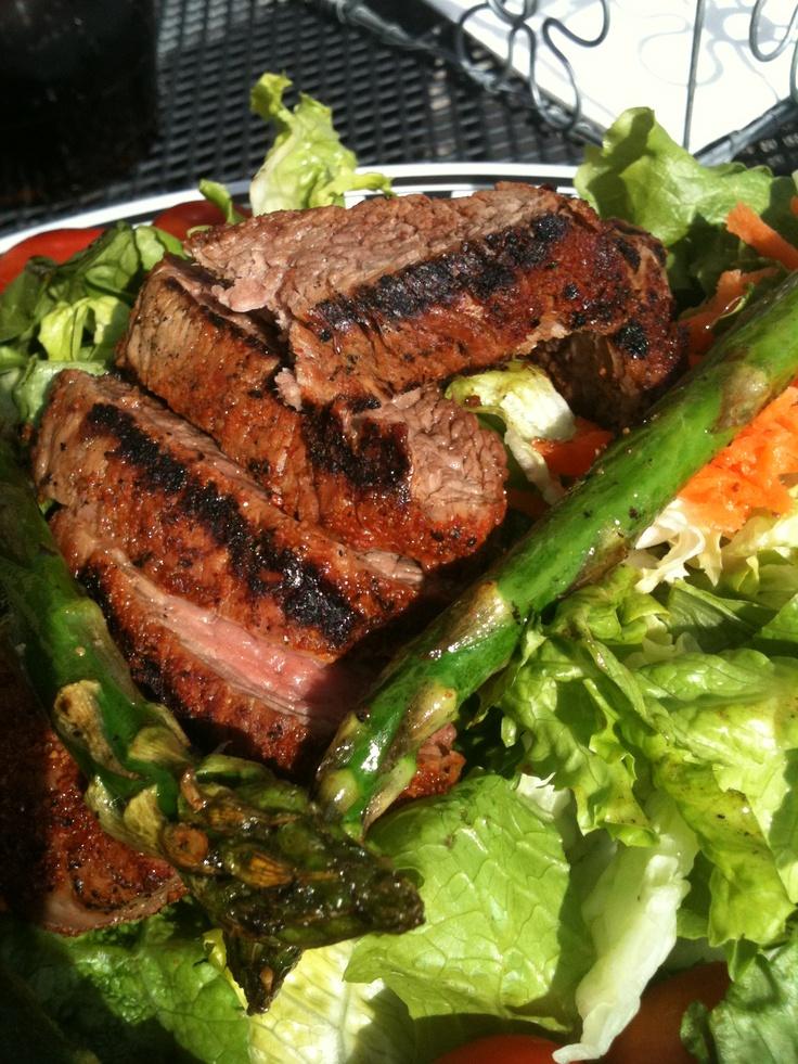 Steak salad~! YUM | Food | Pinterest