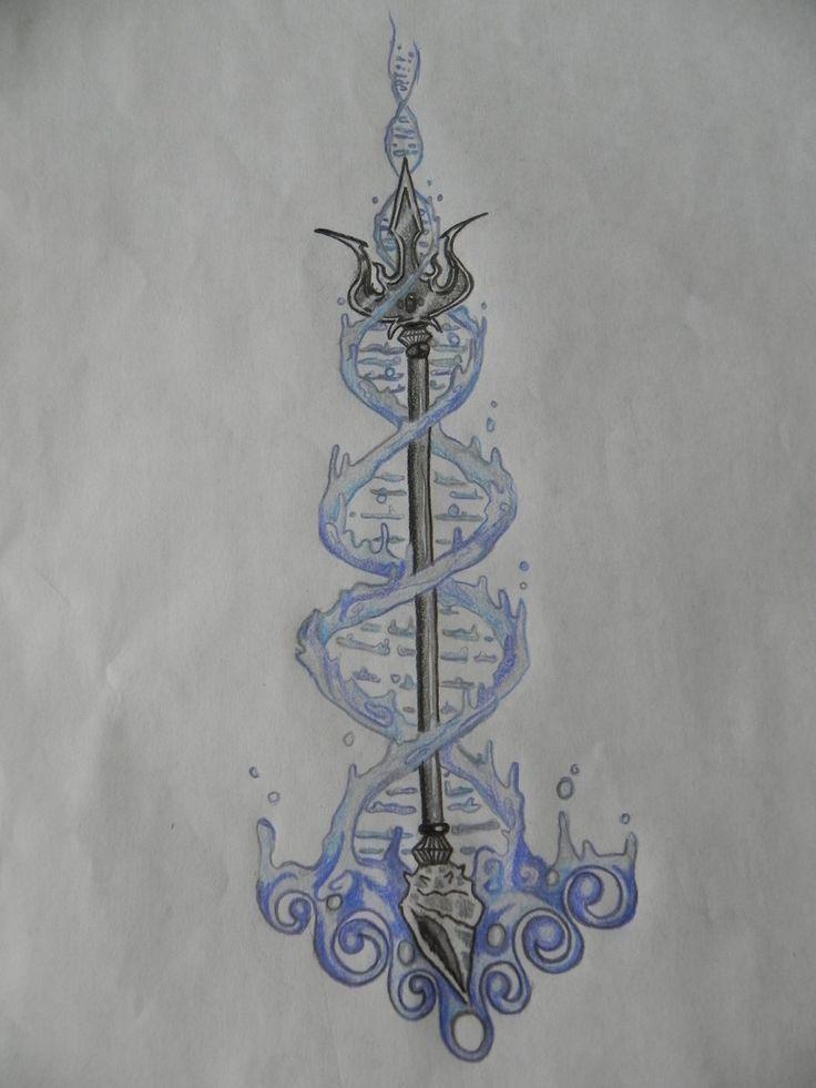 Poseidon Trident Tattoo Percy Jackson | www.imgkid.com ...