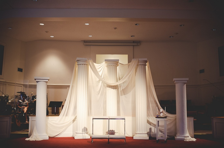 Front of church altar decor church ideas pinterest for Backdrop decoration for church