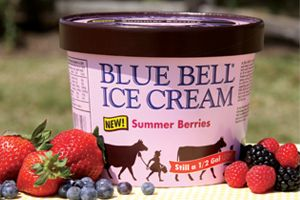 Blue Bell Summer Berries only comes in stores during the summer Kambiz ...