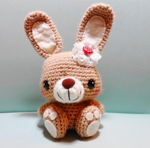 Amigurumi Feet Pattern : PDF Amigurumi Pattern: Big Feet Bunny