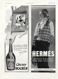 1931 Fashion Illustration Brand:  Hermès (Sportswear)