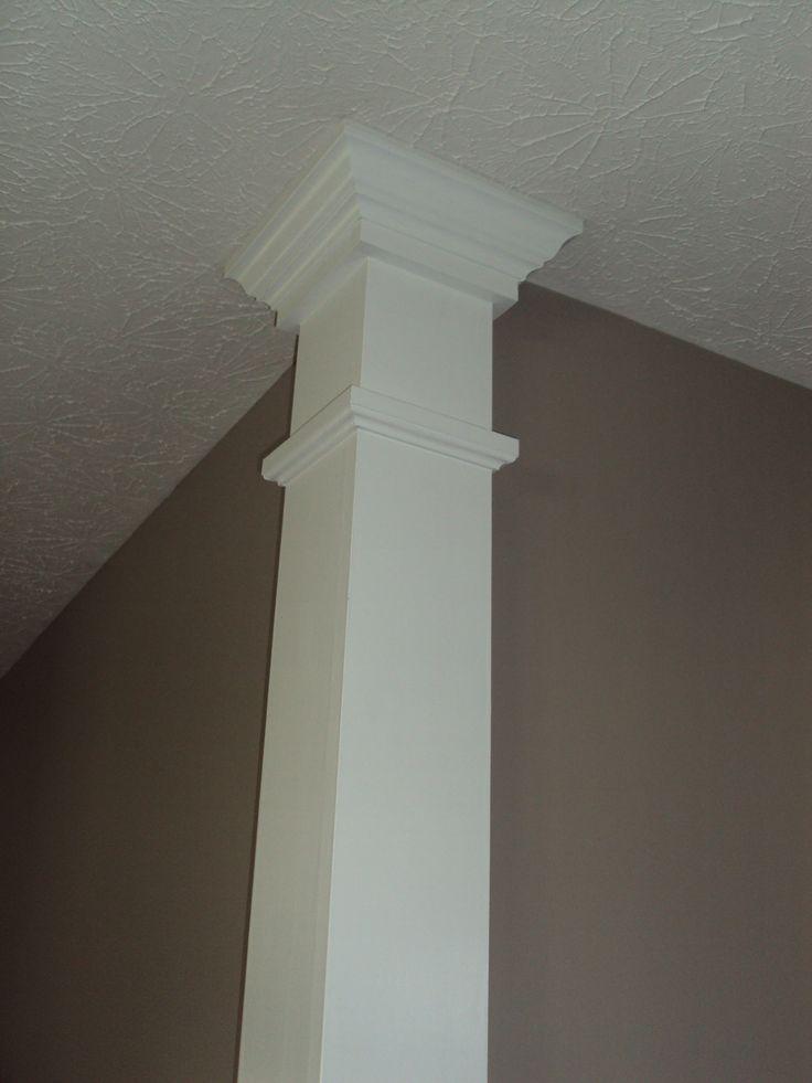 Corner columns   Molding, Wainscot, etc - DIY and ...