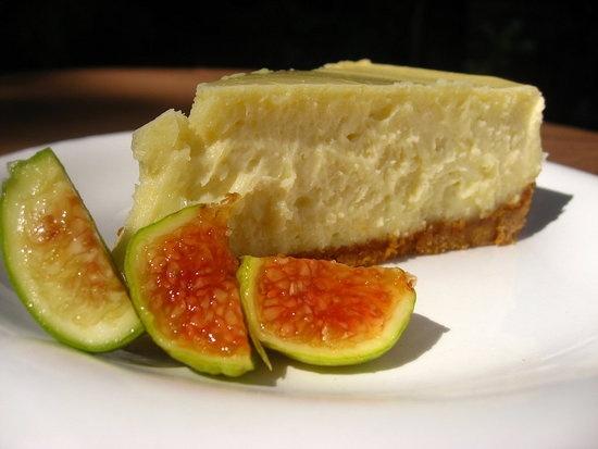 Lemon Goat Cheese Cheesecake   Feed me!!!   Pinterest