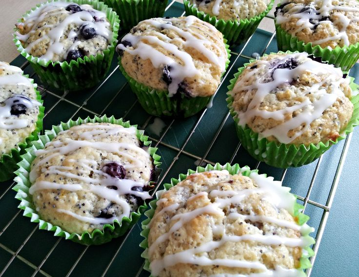 keep them Lemon Blueberry Poppy Seed Muffins, I'm going to do a lemon ...