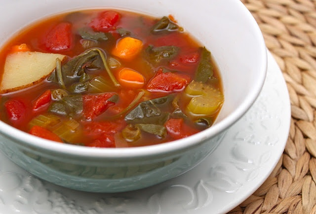 "Crock Pot Minestrone. Turns out my ""crock pot"" (actually a Nesco ..."