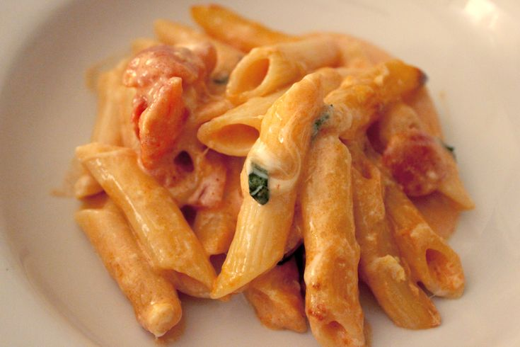 Penne with 5 cheeses | Pasta | Pinterest