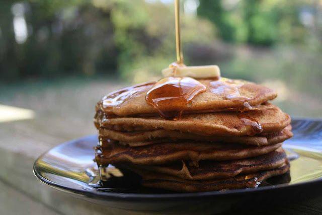 gingerbread wheat pancakes | Food | Pinterest