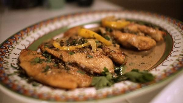 Chicken Piccata With Fried Capers Recipes — Dishmaps