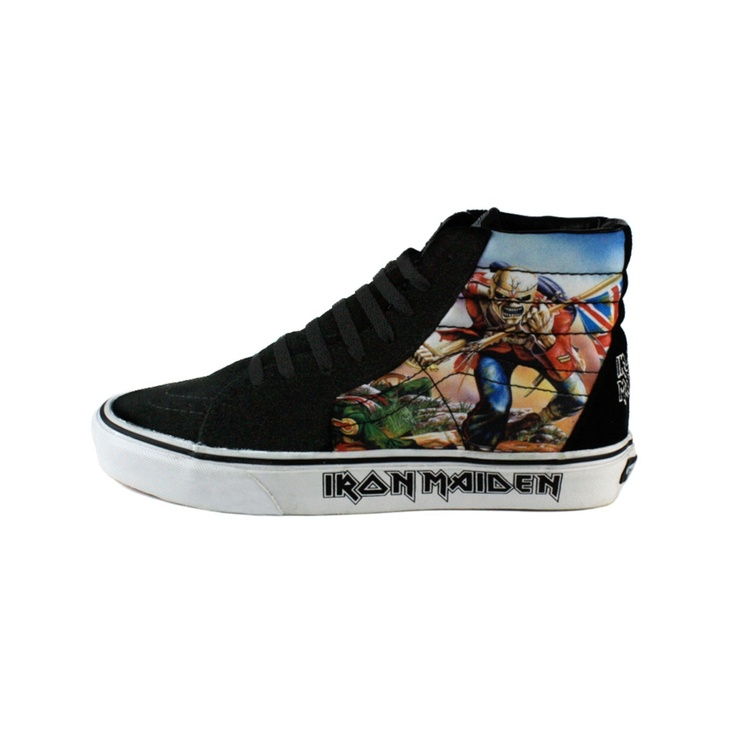Where To Buy Iron Maiden Vans Shoes
