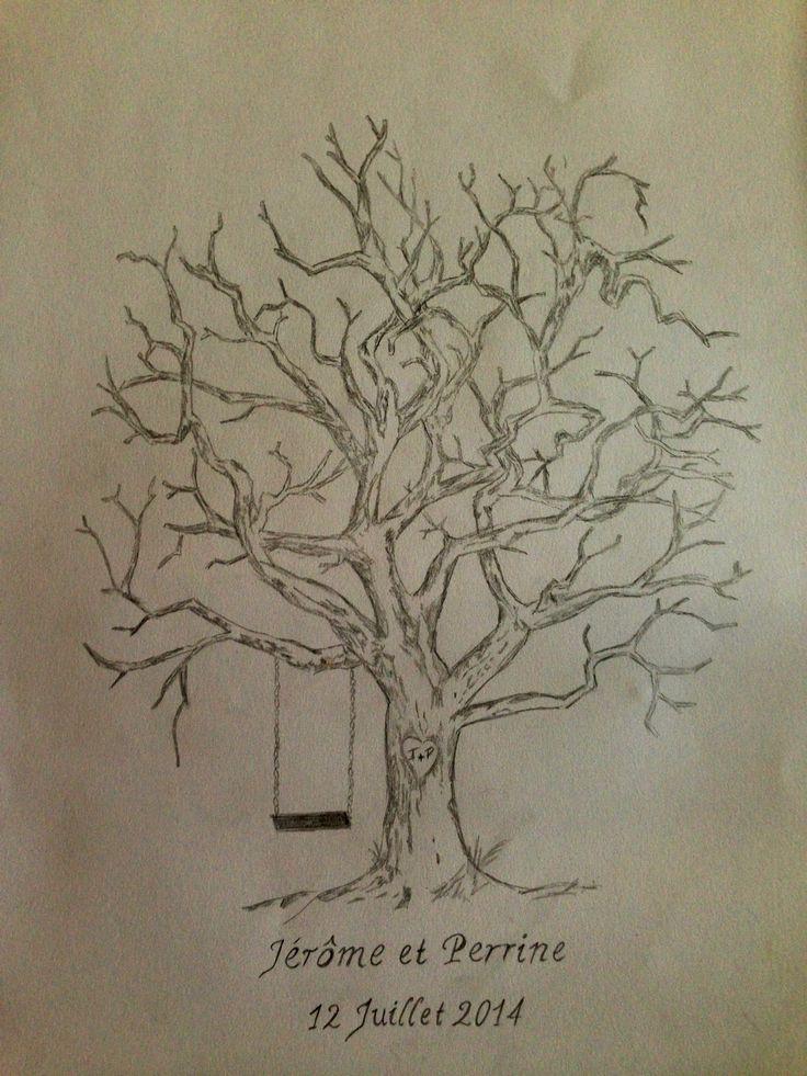 arbre a empreinte mariage id es de d coration pour. Black Bedroom Furniture Sets. Home Design Ideas