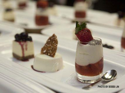 Berry-Chevre Cheesecake Parfait Shots Recipes — Dishmaps