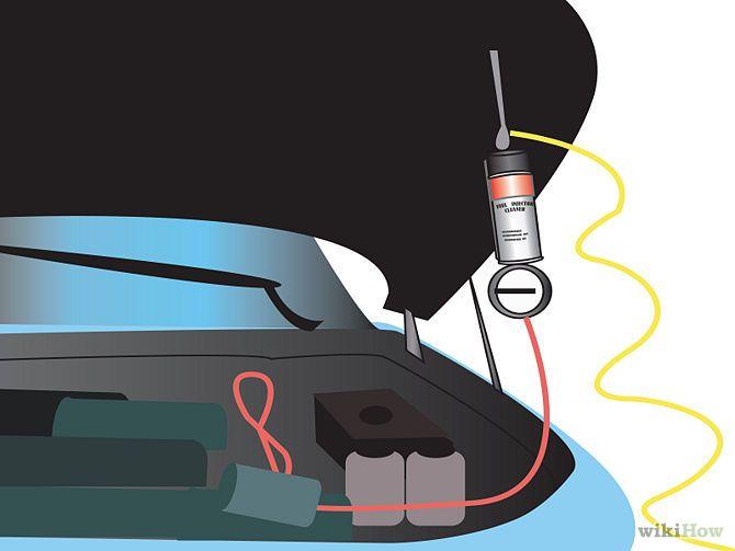 Промывка инжектора своими руками на пежо 308