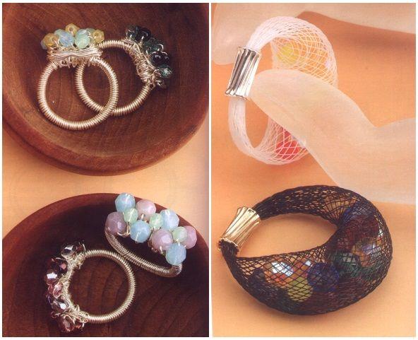 кольцо своими руками с камнем
