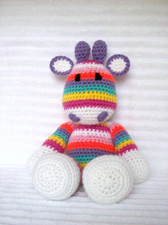 Crocheting Stuffed Animals : Crochet Animal Crochet Giraffe Stuffed Animal by NikkisCraftShoppe, $ ...