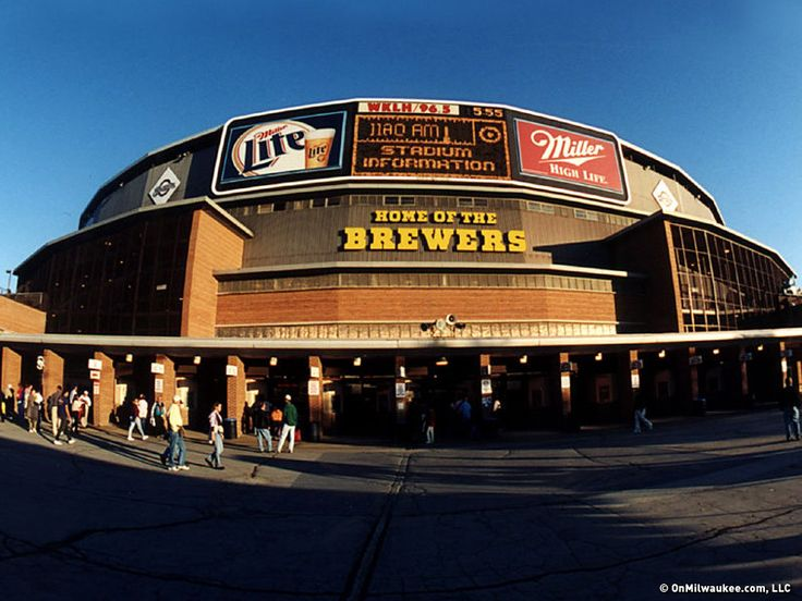 1994-Old Milwaukee County Stadium | Summer Baseball Trip ...