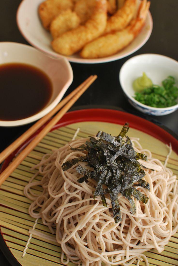 Zaru Soba (Japanese Buckwheat Noodles) https://www.facebook.com/tabaca ...
