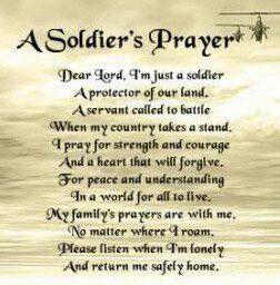 Soldiers prayer tattoos pinterest