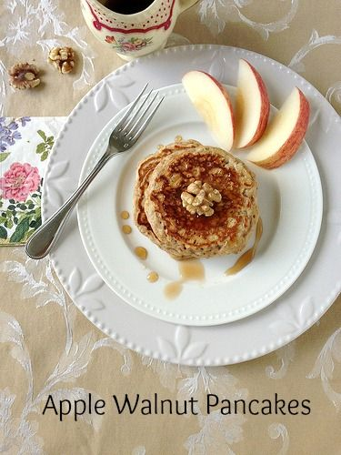 ... Patriots Day Pancake Breakfast and a Recipe for Apple Walnut Pancakes