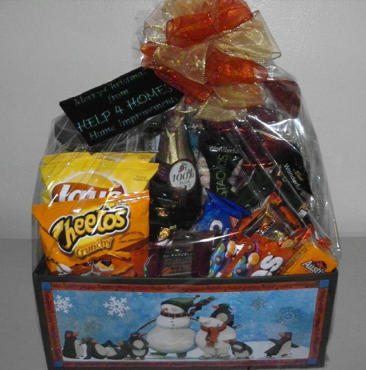 Merry Christmas Snack Box Gift Baskets I Have Created