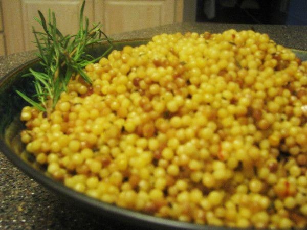 Rosemary Saffron Israeli couscous   Yummies   Pinterest