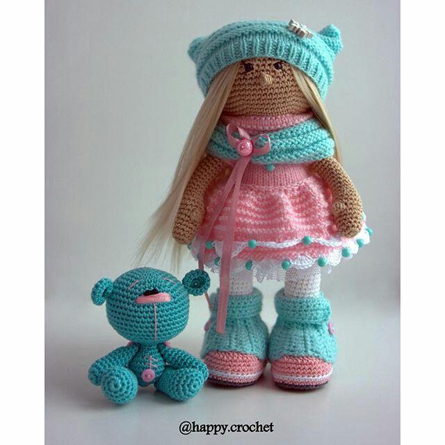 Вязание крючком куклы амигуруми мастер класс 67