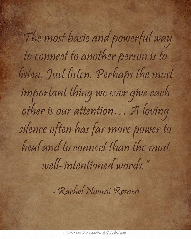 Rachel Naomi Remen Quotes Healing. QuotesGram
