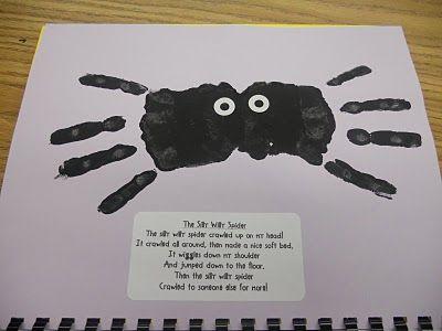 October handprint calendar courtesy of the sharpenedpencil blogspot
