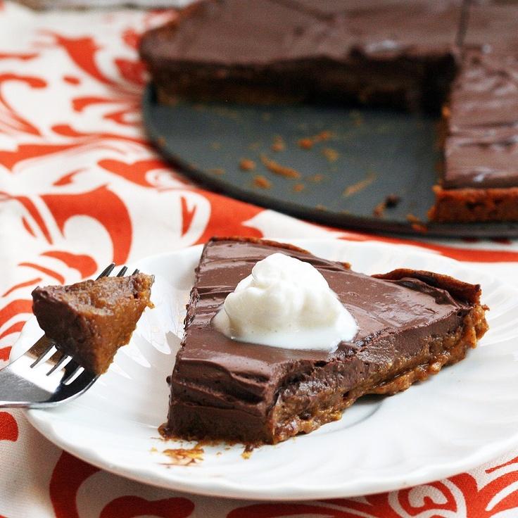 Pumpkin Chocolate Mousse Pie | Recipes | Pinterest
