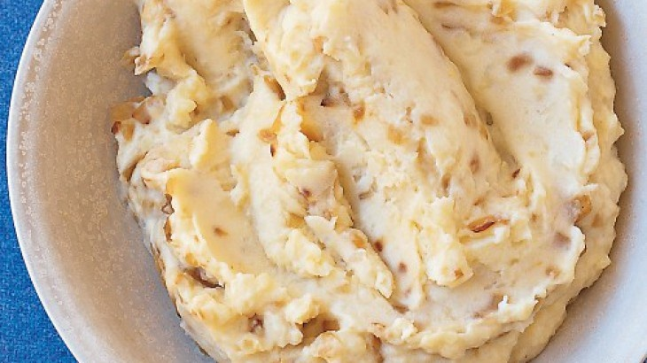 Mashed Potatoes with Caramelized Onions | Favorite Recipes | Pinterest