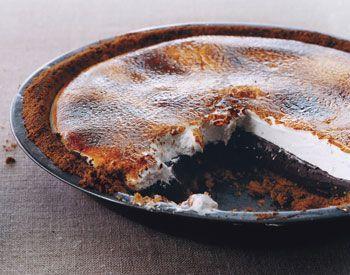Chocolate S'more Pie | Sucre | Pinterest
