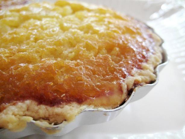 Applesauce Pie - sounds different, but good