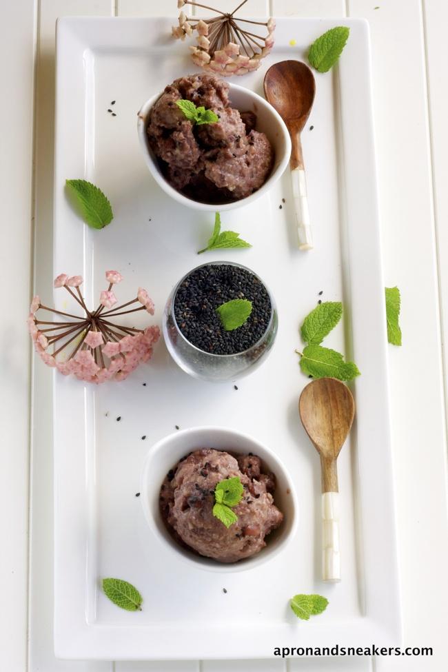 Azuki Red Bean Ice Cream & Ice Pops | *Food* Japanese | Pinterest